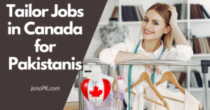 Tailor Jobs in Canada for Pakistanis