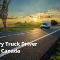 Delivery Truck Driver Jobs In Canada