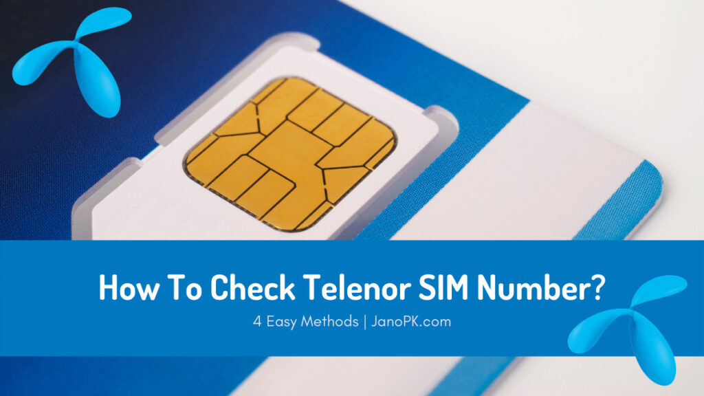 How To Check Telenor Number?