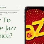 How To Share Jazz Balance?